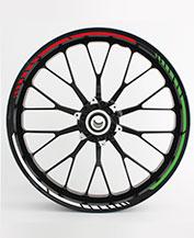 Felgenaufkleber RS Italy Auto