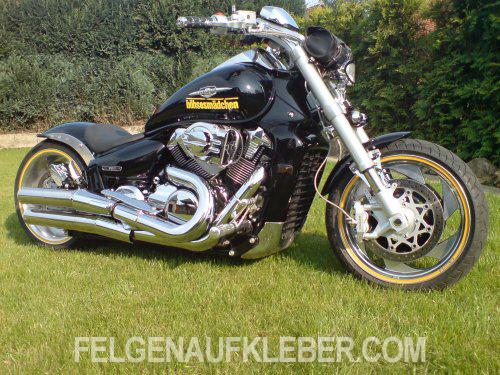 Felgenrandaufkleber Und Felgenaufkleber Für Harley Davidson