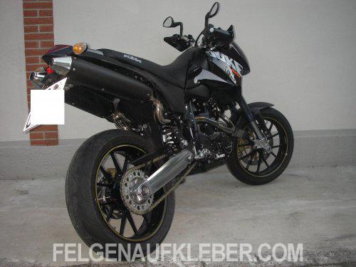 Moto Guzzi Felgenrandaufkleber