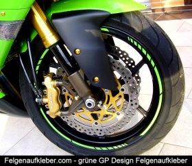 Felgenaufkleber GP Design